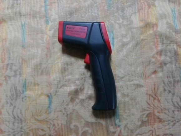 赤外線 温度測定機